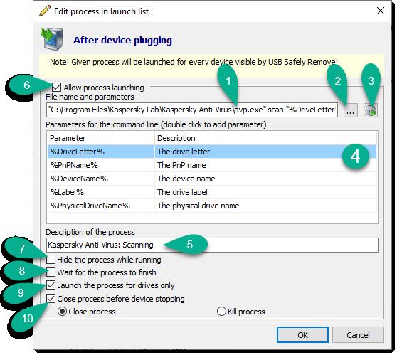 USB Safely Remove Ayuda - How to use program autorun?